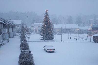 27 december 2015 - Så kom till slut snön.