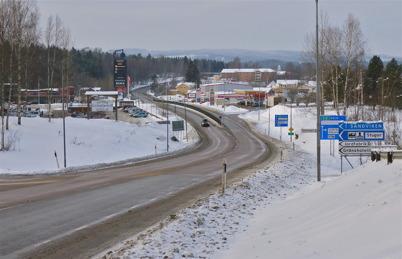 23 januari 2010 - Vägverket har spridit salt på E18 för att motverka isbildning.