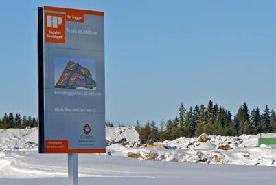 7 februari 2010 - Byggandet av Töcksfors handelspark är försenat. Senaste informationen säger att första etappen skall öppna Påskhelgen 2012.