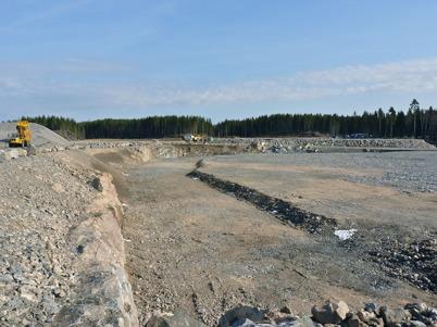 4 april 2010 - Norra delen av området där Töcksfors handelspark skall byggas.