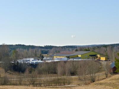 9 april 2010 - Jordfabriken ECONOVA på gamla sågverksområdet vid Sandviken.