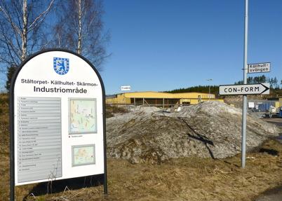 9 april 2010 - Det finns många verksamheter inom industri-området.