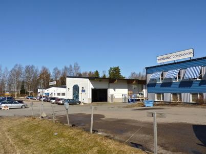 9 april 2010 - Företaget westbaltic Components (tidigare Lars Höglund AB) tillverkar produkter i tunnplåt. Kung Carl XVI Gustaf besökte företaget i samband med invigningen av Töcksfors Shoppingcenter 2005.