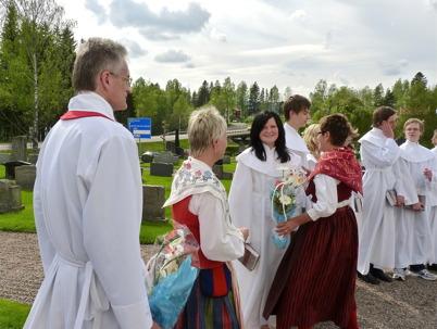 22 maj 2010 - Pingstafton med konfirmation i Töcksmarks kyrka.