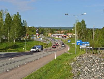 24 maj 2010 - E18 en pulsåder genom Töcksfors.