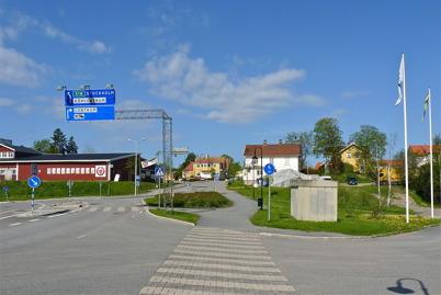 24 maj 2010 - Kötthallen, gamla centrumhuset och Nygård.