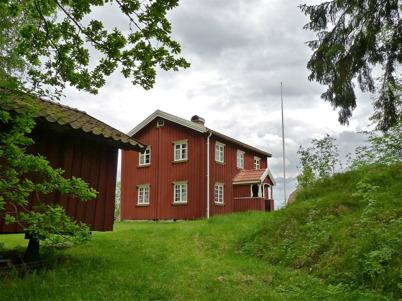 8 juni 2010 - Fornminnesföreningen Nordmarksstugans huvudbyggnad - Storstugan.