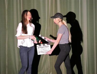 Inspelning av reklamfilm för Yes diskmedel.