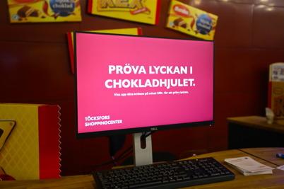 29 oktober 2015 - Digitalt chokladhjul.