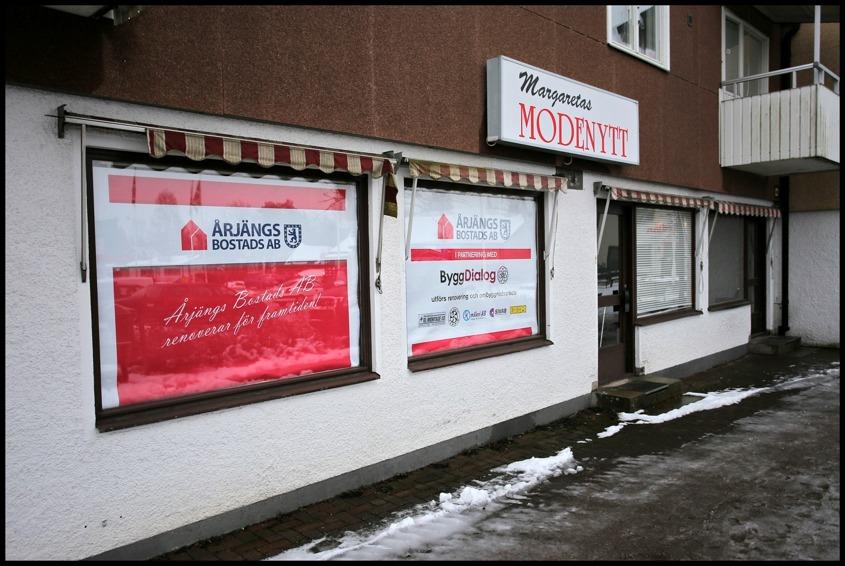 Här fanns ett Arbetsplats- / Informationskontor under byggtiden.