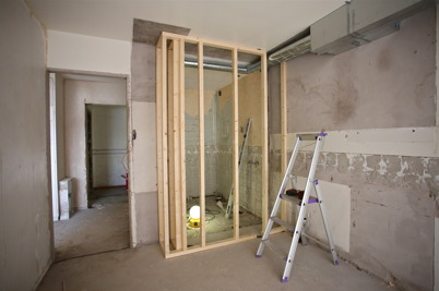 12 mars 2015 - Toalett- och duschrummen görs större för att möjliggöra handikappanpassning.