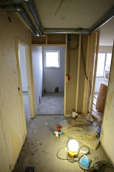 20 mars 2015 - Toalett- och badrummen görs större för att möjliggöra handikappanpassning.