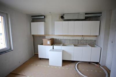 30 mars 2015 - Ny köksinredning och ny ventilation.