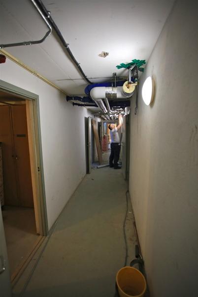 26 juni 2015 - Arbete i källaren.