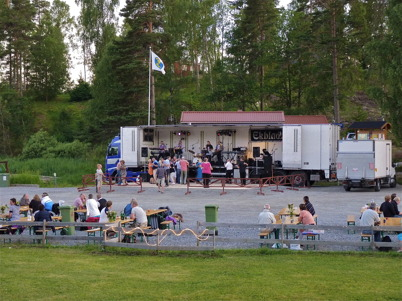10 juli 2010 - Töcksmarksveckans dans i Sandviken.