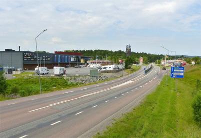 10 juli 2010 - Töcksfors Shoppingcenter vid E18.
