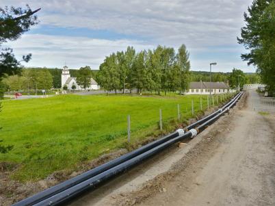 3 september 2010 - HL Energi AB bygger ut fjärrvärmenätet till fritidsgården Högalid, skolan, sporthallen och nya förskolan.