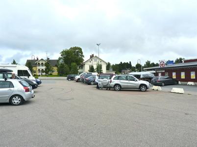27 augusti 2010 - Kötthallens norska kunder kommer för att handla mat inför helgen.