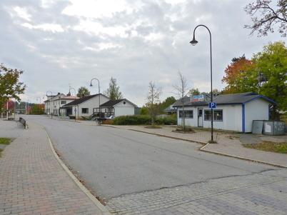 3 oktober 2010 - Sveavägen genom centrala Töcksfors.