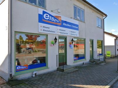 27 september 2010 - Elbutiken Elspar har flyttat in i affärslokalen  där Töcksfors Elektriska fanns tidigare.