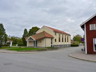 3 oktober 2010 - Missionskyrkan vid Sveavägen i centrala Töcksfors.