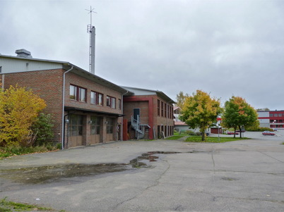 9 oktober 2010 - Brandstationen och badhuset.