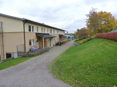 9 oktober 2010 - Hyreshusen vid norra delen av Bögatan.