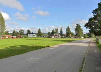 7 september 2010 - Den gamla bebyggelsen vid norra delen av Bögatan.