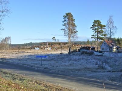 7 november 2010 - Markarbetet har startat på Prästnäset, där det nya bostadsområdet skall byggas.