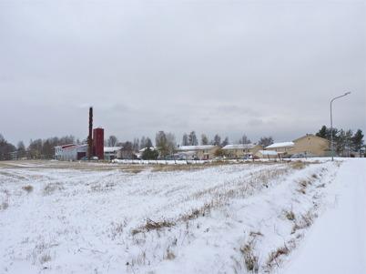 10 november 2010 - Fjärrärmecentralen och hyreshusen vid norra delen av Bögatan.
