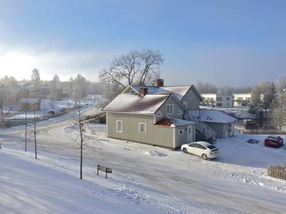 11 november 2010 - Området vid övre forsen i vackert vinterväder.