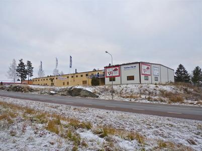 19 november 2010 - En av industribyggnaderna på Ståltorpets industriområde.