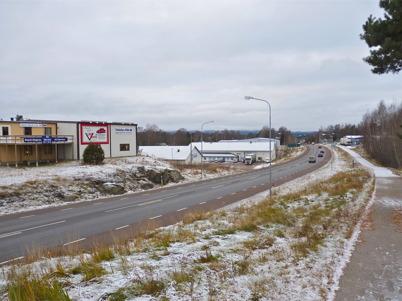19 november 2010 - Utsikt mot Skärmons industriområde.