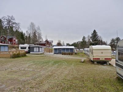 9 november 2010 - Campingsäsongen är över och det är folktomt i husvagnsparken på Sandvikens camping.
