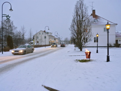 28 november 2010 - Skyltsöndag i ett iskallt väder.