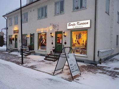 28 november 2010 - Skyltsöndag i Töcksfors centrum.