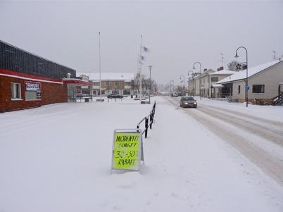 18 december 2010 - Snöväder i Töcksfors.