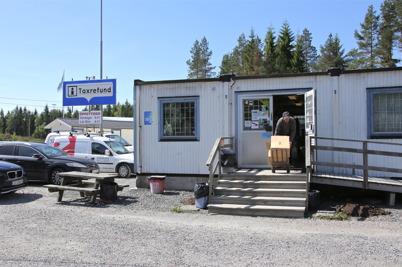 28 maj 2014 - gamla butiken töms på återstående varulager.