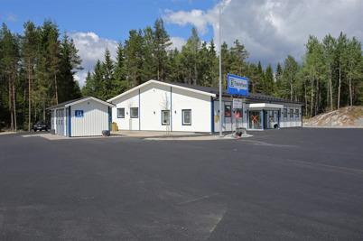 19 juni 2014 - Nya Eurotax-butiken vid gränsen.