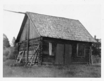 Soldatbostället Västra Bön Töcksfors 1952.