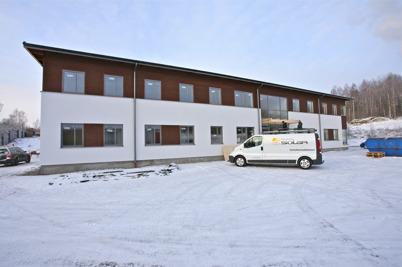 7 januari 2016 - Nordic solar´s nya företagshus på Ståltorpets industriområde var snart inflyttningsklart.