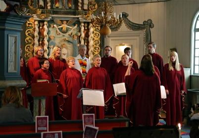 24 januari 2016 - I Töcksmarks kyrka var det HOLY-mässa.