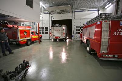 25 januari 2016 - . . och flytta in i den ombyggda brandstationen i Töcksfors centrum.
