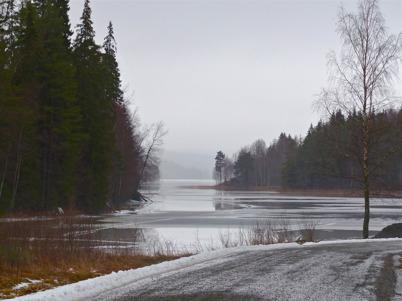 27 januari 2016 - Det milda vädret gjorde isarna farliga.