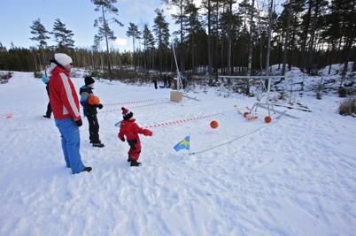 21 februari 2016 - På Kölens Sportcenter var det familjedag med olika aktiviteter.