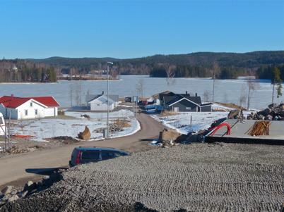 16 mars 2016 - På Prästnäset byggdes nya villor.