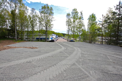16 maj 2016 - Wermland mechanics nya parkering var klar.