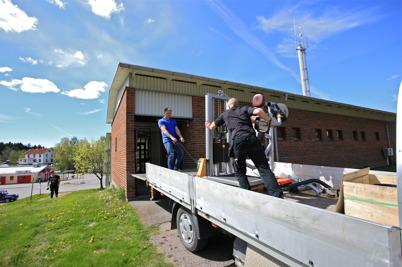 17 maj 2016 - Gymmet i Töcksfors flyttade in i nya träningslokalen i Töcksfors brandstation.