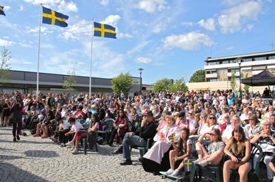 6 juni 2016 - I Årjäng firades Nationaldagen med utdelning av flera priser.