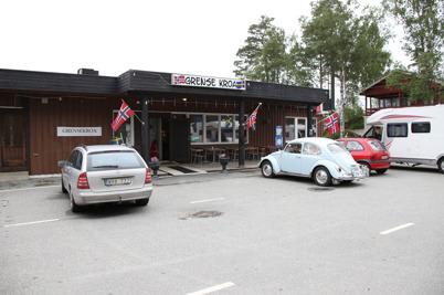 26 juni 2016 - Grense Kroa var fortfarande öppen.